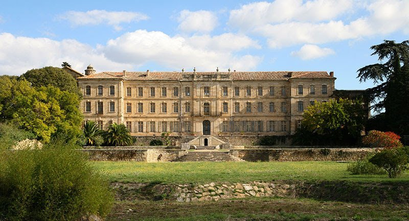 Castel abbey of Cassan-Languedoc