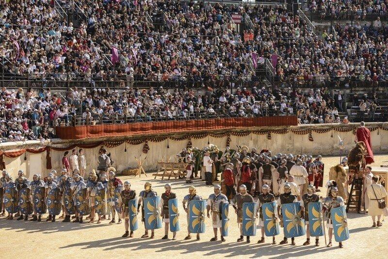 Grands Jeux Romains - Arènes de Nîmes