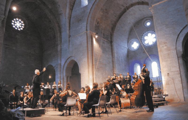 Concert à l'Abbaye de Sylvanès