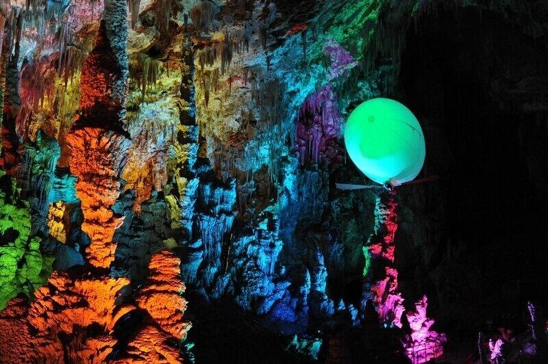 Aeroplume Grotte de la Salamandre