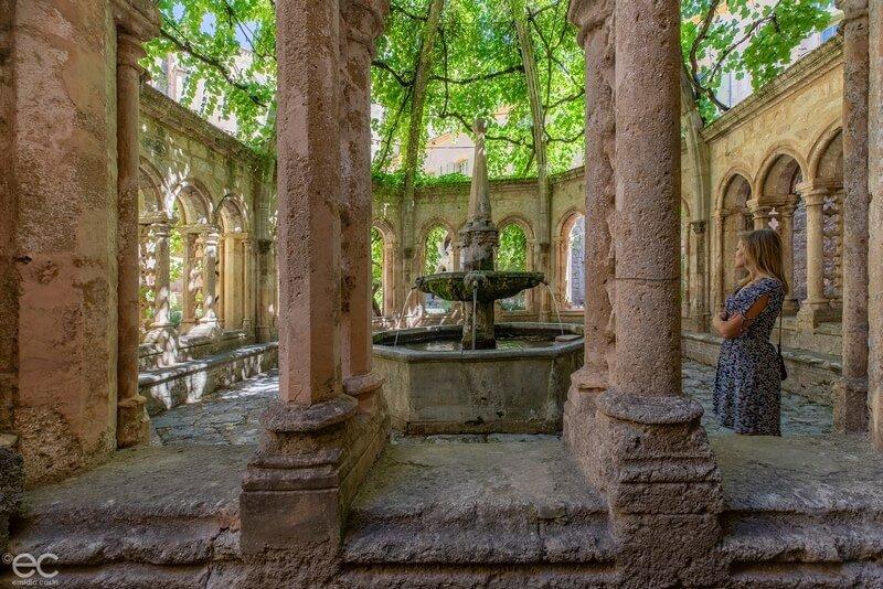 Fontaine de l'Abbaye de Valmagne