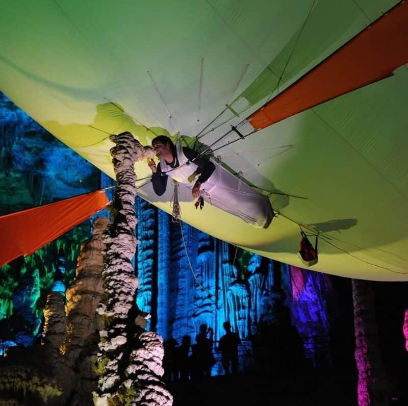 Aeroplume grotte Salamandre