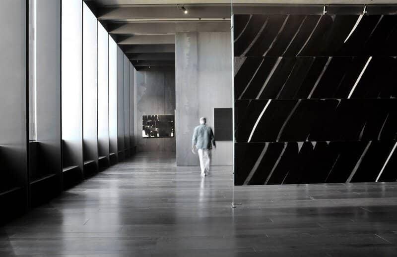 Musee Soulages interieur - Crédit photo p-thebault