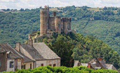 Château de Najac - Crédit photo D. Viet