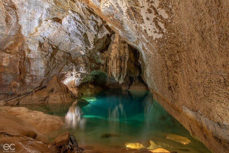 Grotte de Trabuc - Lac de minuit - Gard