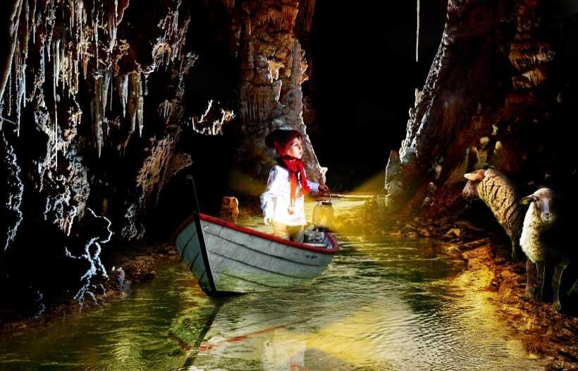 Voyage conté - Grotte de Clamouse