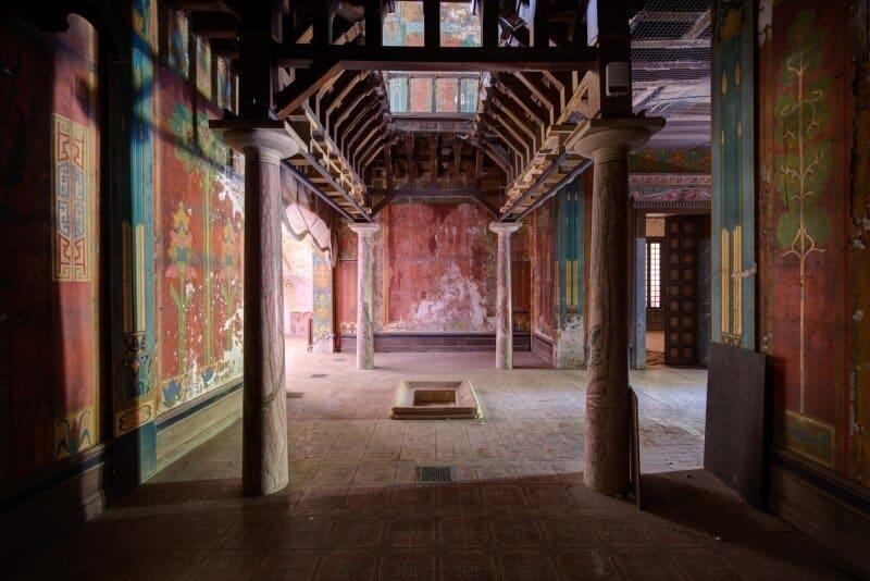 Intérieur de la Villa Laurens- Agde