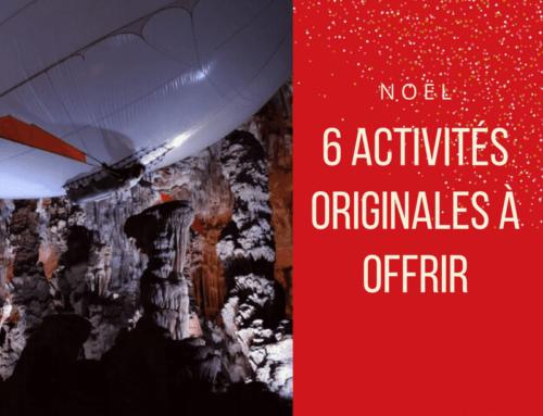 Nos idées cadeaux de Noël – 6 activités originales à offrir !
