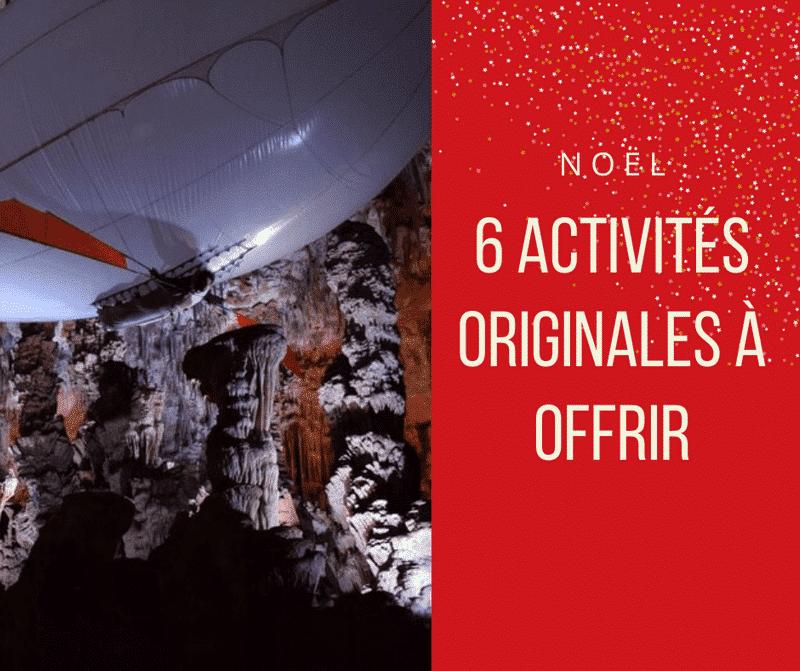 Activité cadeau Noel Languedoc