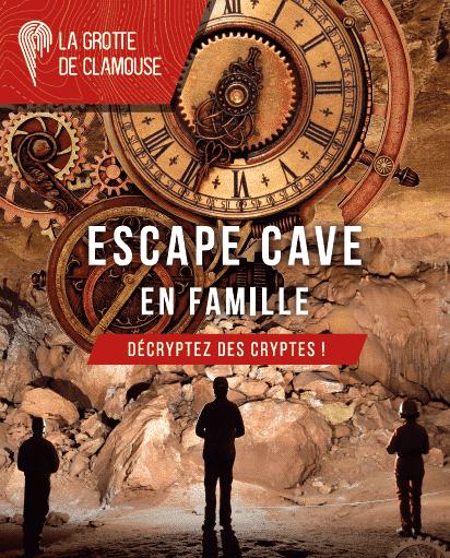 Escape Cave Clamouse