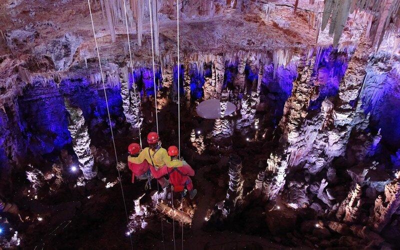 GrandRappel - Grotte de la Salamandre