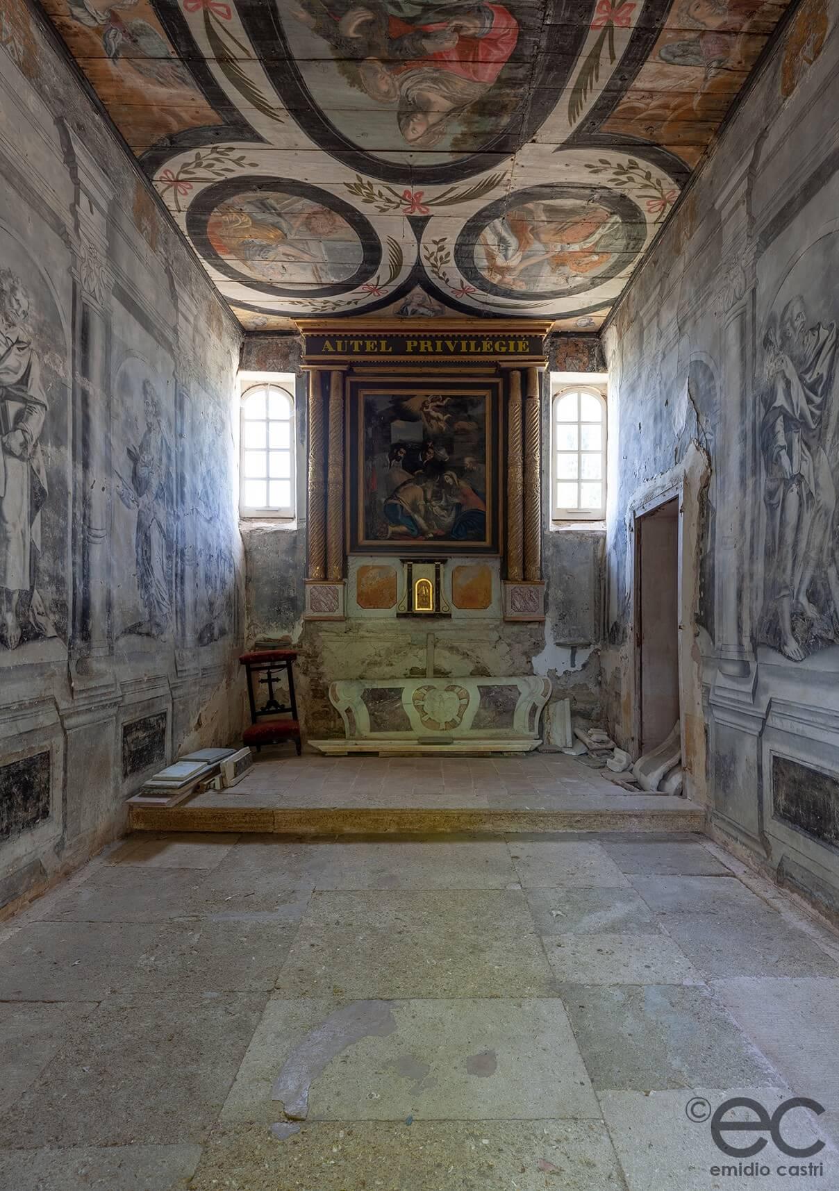 Chapelle - Seigneurie de Peyrat - Vignoble -Languedoc-Hérault
