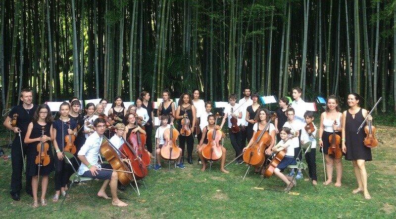concert bambouseraie