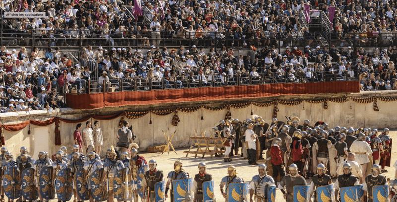 Les grands jeux Romains - Arènes de Nîmes