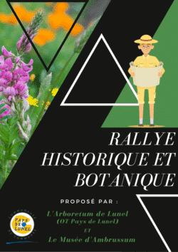 Rallye histo/botanique - Ambrussum